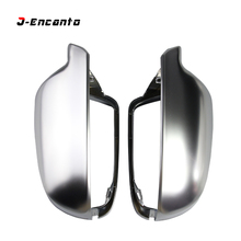 B8.5 B8.5K Matt Chrome Mirror Cover Rear view Side Mirror Cap For Audi A3 A4 A5 A4L 2011-2016 lexucar matt chrome car rearview silver side mirror covers cap s line b8 5 b 8 5 for audi a3 a4 a5 2011 2016