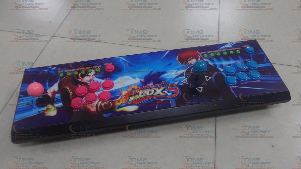New Arrival Pandora Box 5 2 players All-metal Box Arcade Fighting Game Joystick with 4 core CPU 960 in 1 games 8 ways joysticks saint petersburg board game cards game 2 5 players family toys game for children with parents indoor games