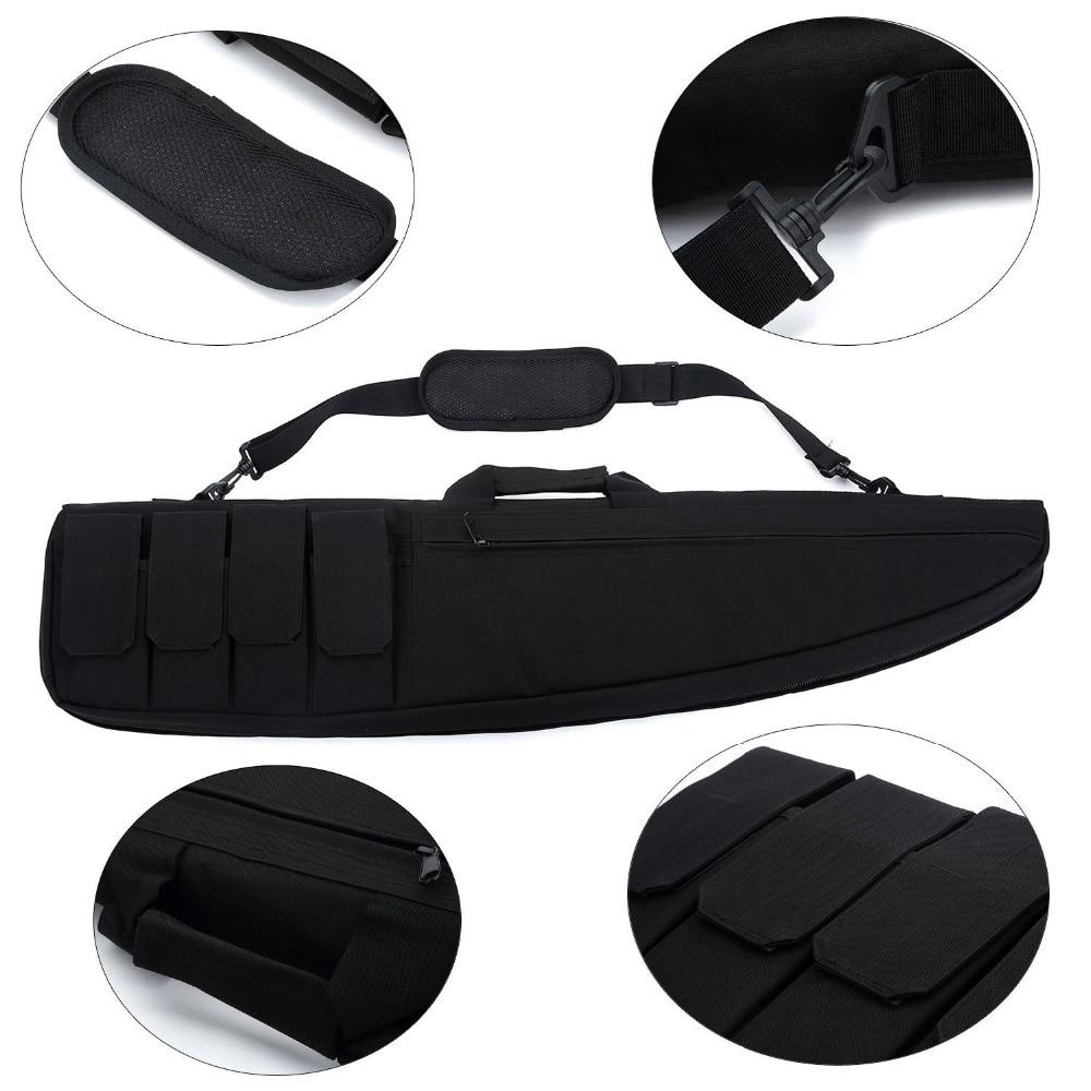 90cm Tactical Gun Bag Airsoft Military Gun Case Hunting Shooting Rifle Bag Paintball CS Shoulder Carbine Bag