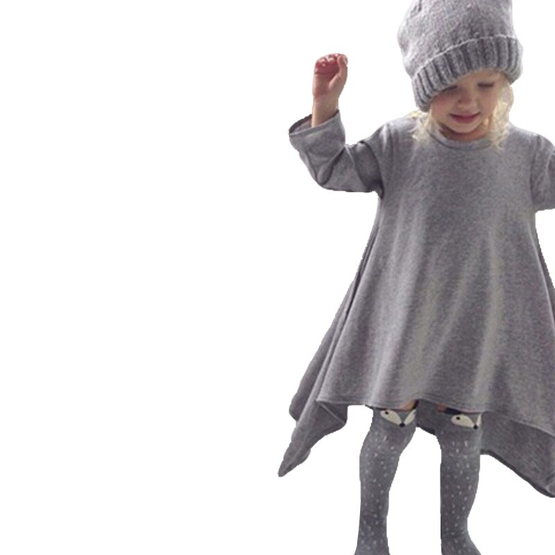 Dresses Girl Frocks School-Wear Clothing Kids Children's Cool Winter Casual For Outfits