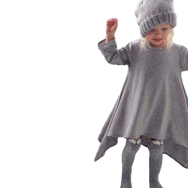 5aa690e9f Cool Winter Girls Clothes School Wear Children s Dresses Girl ...