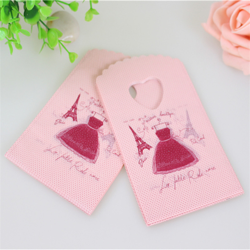 New Design European Style Wholesale 50pcs/lot 9*15cm Fashion Girl Skirt Mini Packaging Bags Small Gift Bags