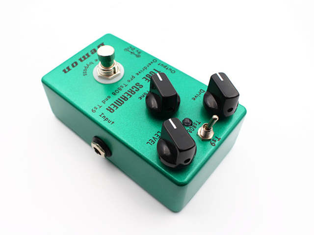 Hand Made Guitar Effect Pedal TS9 and TS808 Tube Screamer 2 in 1 Overdrive  And True Buypass