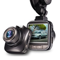 Car DVR Recorder Novatek 96650 with 2 inch LCD display 150 degree wide angle lens built in battery