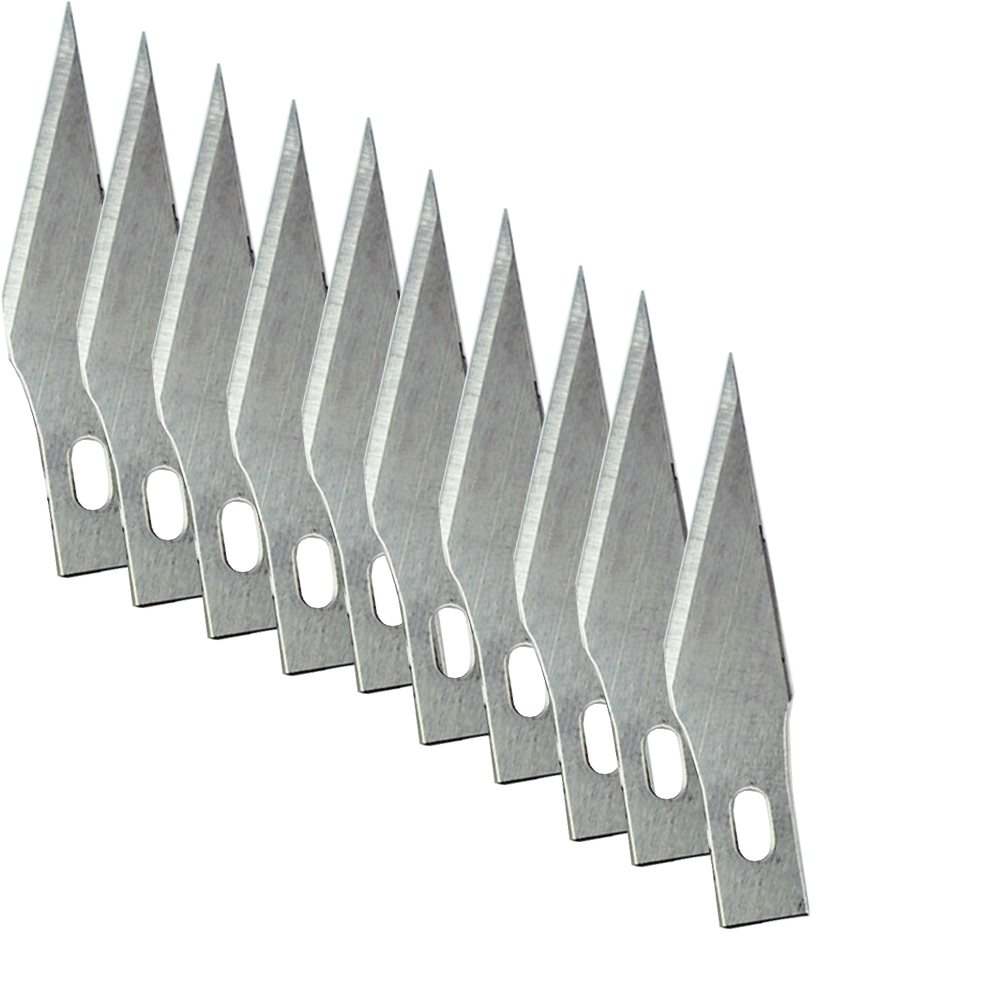 11# 10 pcs Blades for Wood Carving Tools Engraving Craft Sculpture Knife Scalpel Cutting Tool PCB Repair цена
