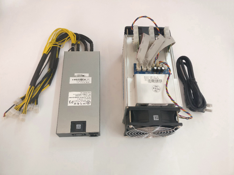 Asic Bitcoin Miner WhatsMiner M3 10.5 T-11.5 T TH/S 0.17-0.18kw/TH V1 BTC BCH Miner crypte Coin minier plate-forme (avec PSU) utilisé