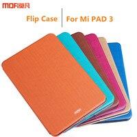 Para xiaomi mi pad 3 caso cubierta del caso del tirón del soporte de la cubierta xiaomi mipad 3 Tablet cubierta completa azul naranja protectora mipad3 rosa rojo