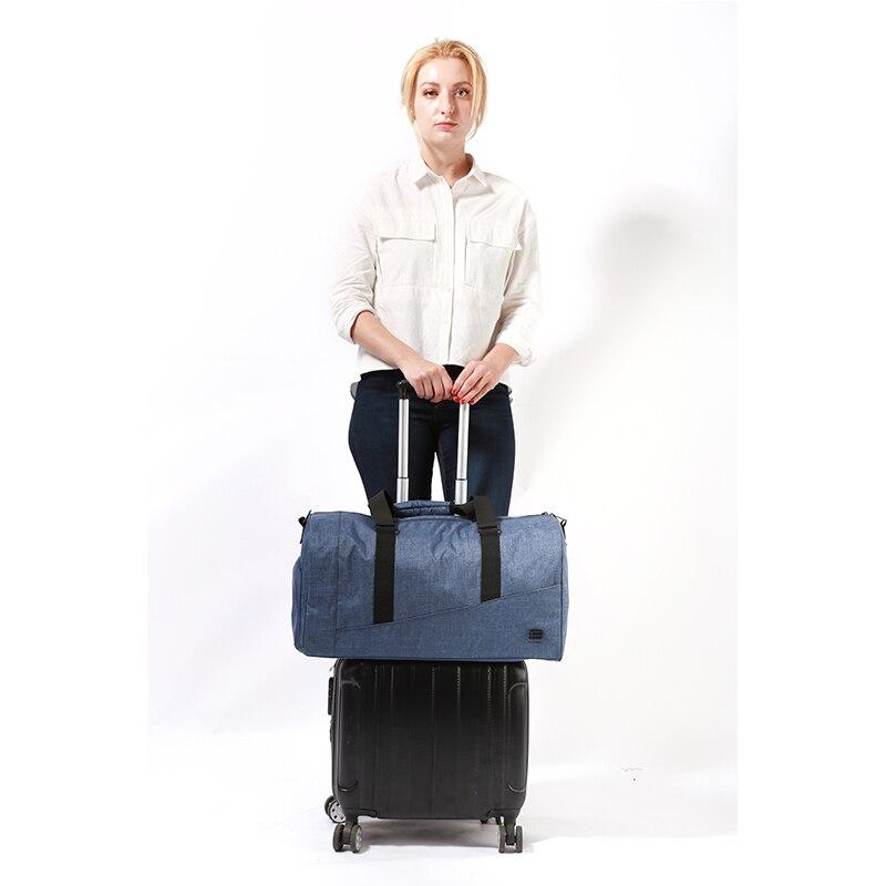 BAGSMART Män Resväska Stor Kapacitet Bär på Bagage Bag Nylon - Väskor för bagage och resor - Foto 6