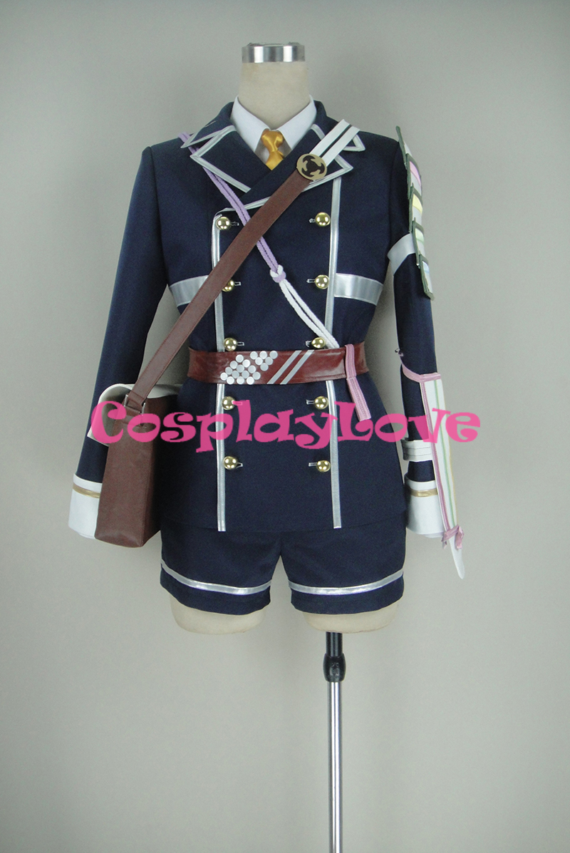 Custom Made Touken Ranbu Online Houchou Toushiroue Unfirom Cosplay Costume For Carnival Christmas Halloween