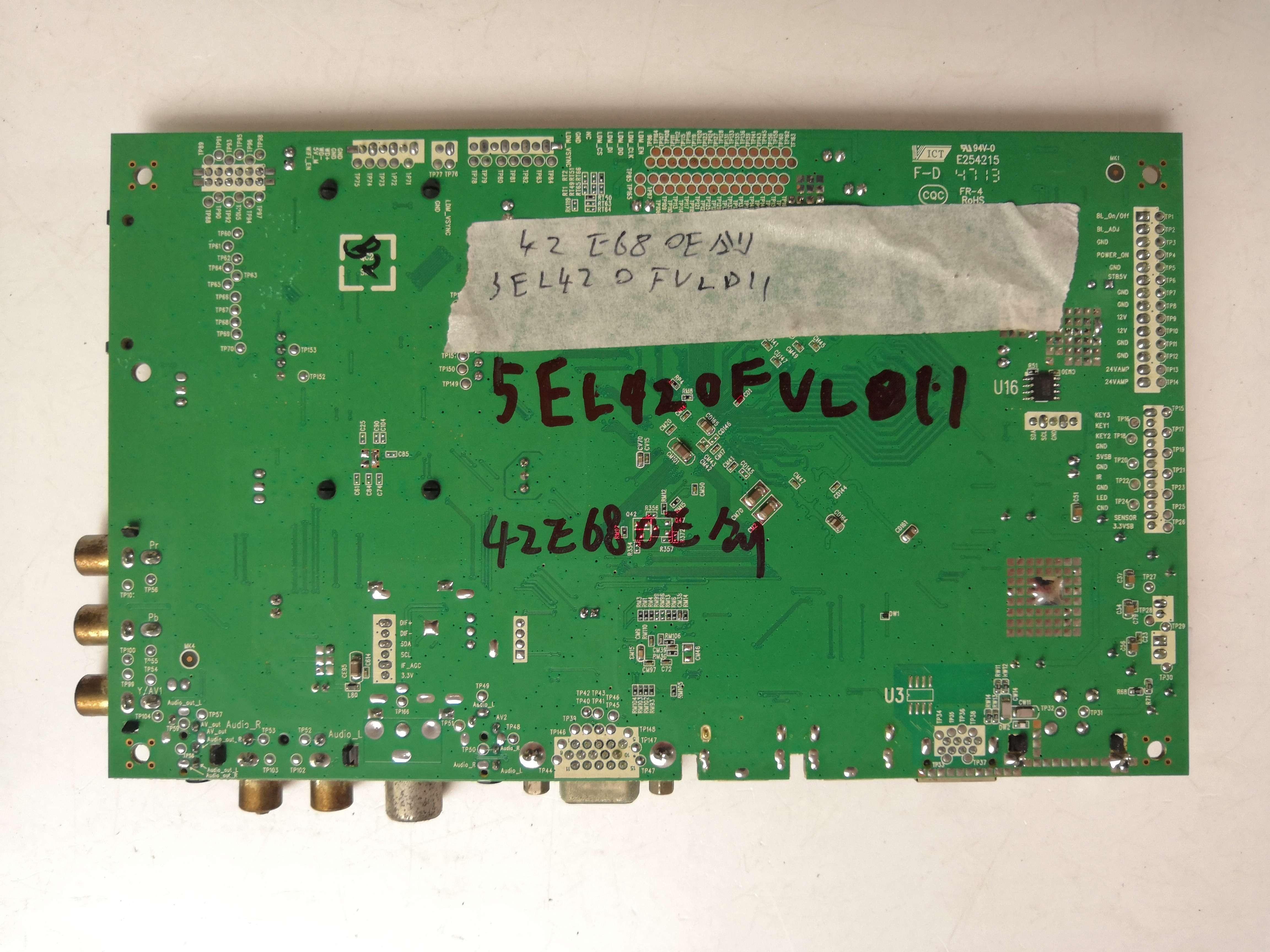 Main Board Circuit Logic Board Constante Board 42E680E TV moederbord 5800-A8K540-0P20 met screen SEL420FY (LDF-112)