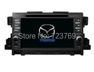 Quad Core, 16G, 1024X600, Android 4.4.4 Car DVD GPS Navigation for Mazda: CX-5   2012