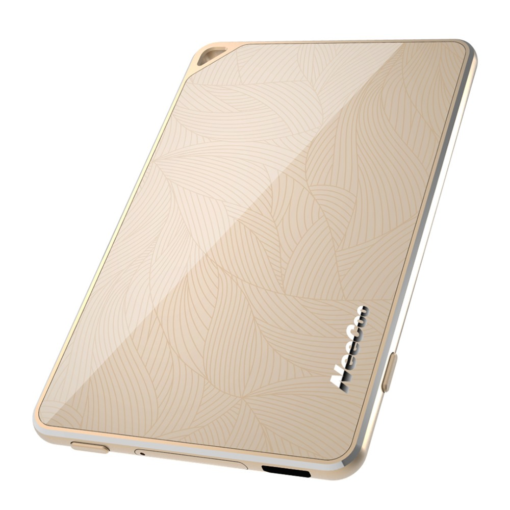 4mm Ultra-Mince Cadre En Alliage D'aluminium de Luxe D'origine Golden Portable Neecoo Bluetooth 4.0 Double Carte Sim Adaptateur Pour iPhone 6 S Pl