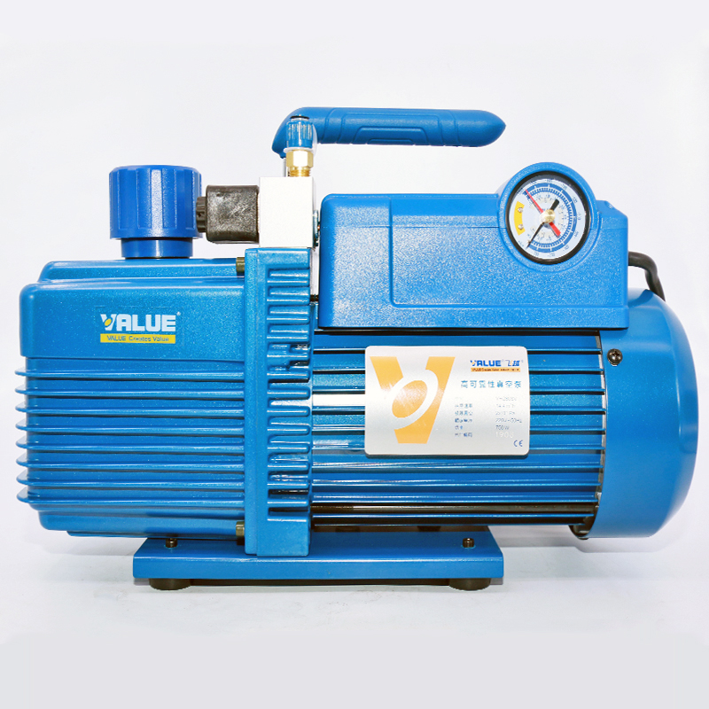 220V 750W 4L Flow Rate 14.4m3 / H Vacuum Pump V-i280SV Two-stage New Refrigerant Vacuum Pump Refrigeration Tools