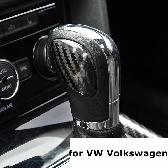 DSG ручка переключения рулевого механизма автомобиля Панель крышка наклейки из углеродного волокна для VW Volkswagen для Golf, jetta, Polo Golf MK4 MK5 MK6 MK7 Passat B5 B6 B7 B8 R