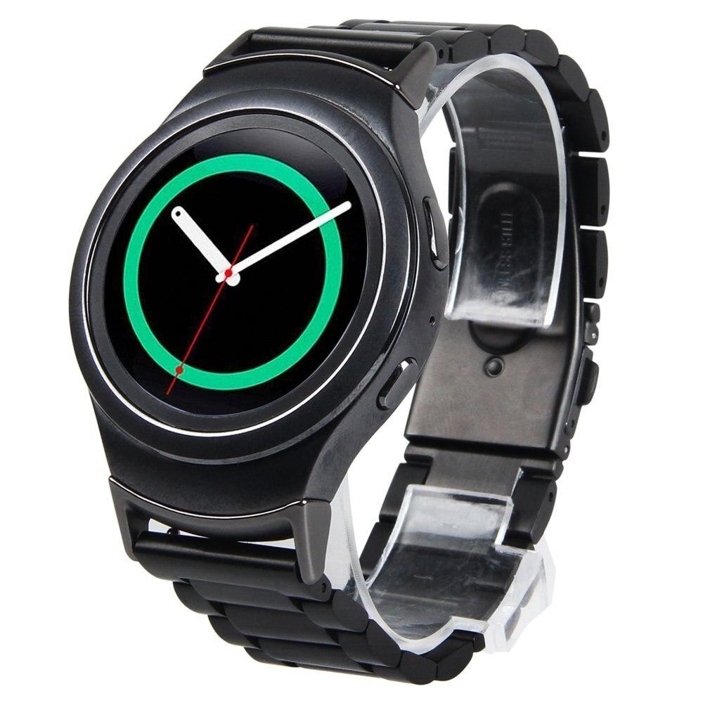 Prix pour V-moro en acier inoxydable bande pour les engins s2 bande sport outre montre bracelet remplacement bracelet pour samsung gear s2 r720