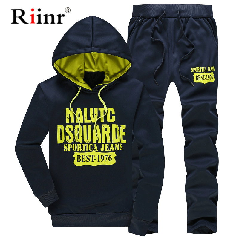 New Spring Tracksuits Males Womanhoodies Jacket + Sweatpants Swimsuit Spring Sweatshirt Sportswear Set Male Hoodie Sporting Fits