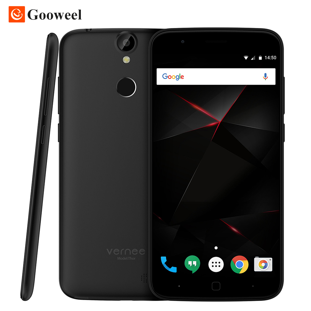 Vernee Thor Smartphone 4G 5 inch HD MTK6753 Octa Core Android 6 0 Mobile Cell Phone
