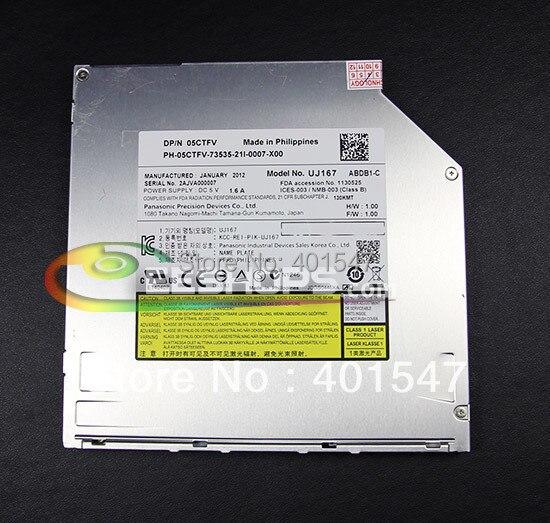 ФОТО for Panasonic UJ167 UJ-167 UJ167 6X 3D Blu-Ray Player Combo BD-ROM Speler Laptop Slim 9.5mm SATA Slot-in Optical Drive Case New