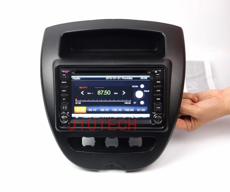 Autoradio De Voiture Stéréo Satnav Headunit DVD Autoradio gps système de navigation