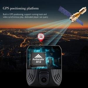 Image 5 - AZDOME DAB211 Ambarella A12 kamera do deski rozdzielczej samochodu 1440P Super Night Vision Dashcam kamera do rejestracji wideo DVR wbudowana GPS ADAS nagrywania w pętlę