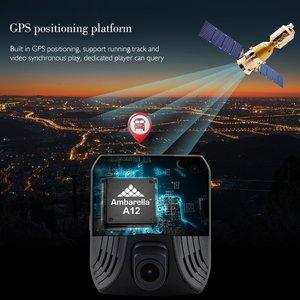 Image 4 - Azdome DAB211 Ambarella A12 Auto Dash Cam 1440P Super Nachtzicht Dashcam Camera Recorder Dvr Ingebouwde Gps Adas loop Recording
