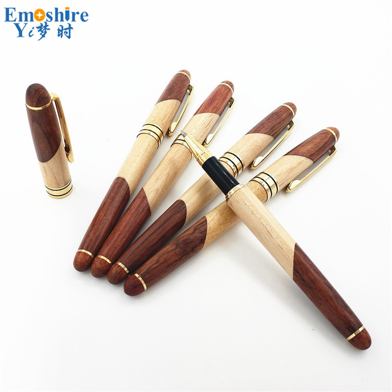 Lapiceros Creativos Advertising Ballpoint Pen Creative Wooden Roller Ball Pen Business Gifts Ball Pen for Writing Supplies P068 катушка yoshi onyx gyro 4000