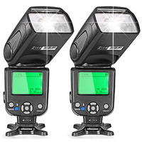 Neewer Two i TTL Flash Speedlite for Nikon DSLR Camera D7200/D7100/D7000/D5200/D5100/D5000/D3000/D3100/D30 D3100 D300 D700 D600