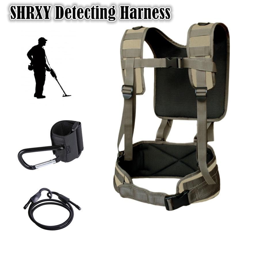 Estilingue para Todos os Detectores de Metal Detector de Metais Detecção de Genéricos Caçador de Recompensas Arnês Pro-swing Mesmo Modelo Suporte Garrett Gpx 45