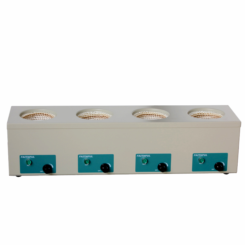 98-IV-B Four Rows Electronic Control Heating Mantles 1000ml X 4 Rows