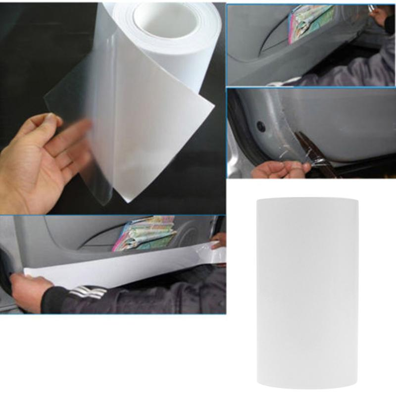 3m Semi-clear Car Body Door Edge Paint Anti-scratch Protective Film Sticker Universal Sticker Transparent Car Protective New kitmmm5910121296unv20630 value kit highland transparent tape mmm5910121296 and universal perforated edge writing pad unv20630