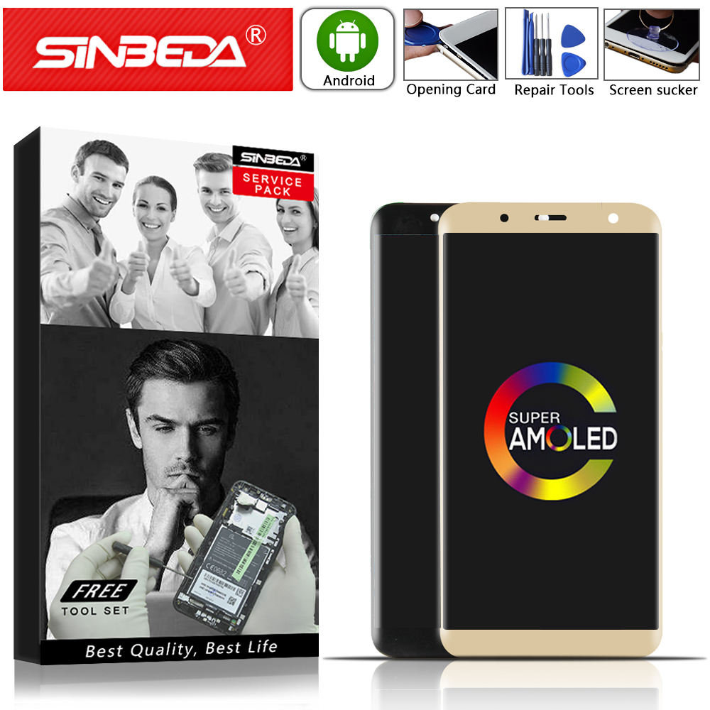 6.0 AMOLED LCD Sinbeda For SAMSUNG Galaxy J810 Display Touch Screen Digitizer For SAMSUNG J8 2018 LCD SM-J810F J810M J810 LCD $6.0 AMOLED LCD Sinbeda For SAMSUNG Galaxy J810 Display Touch Screen Digitizer For SAMSUNG J8 2018 LCD SM-J810F J810M J810 LCD $