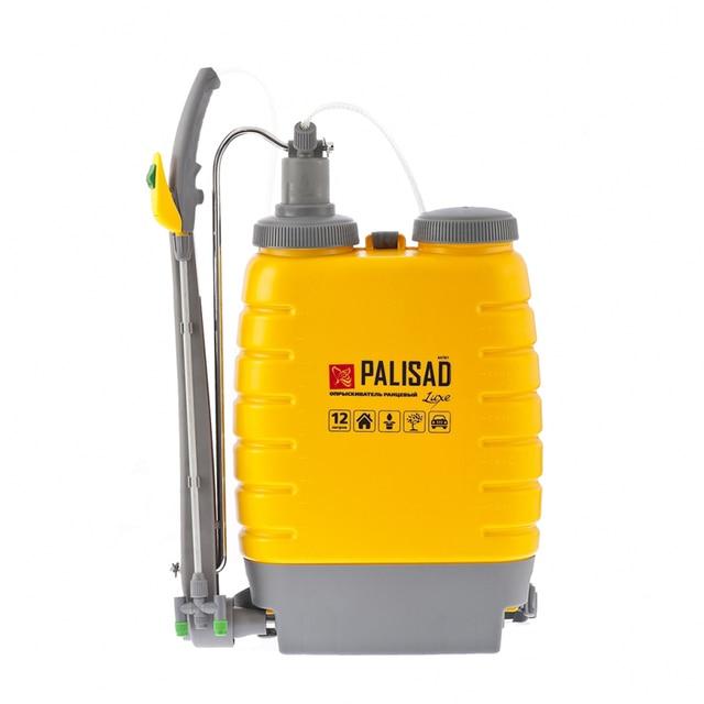 Опрыскиватель ранцевый PALISAD 64781 (Объем 12 л, длина шланга 2 м, вес 3.5 кг, регулировка распыления, мерная шкала)