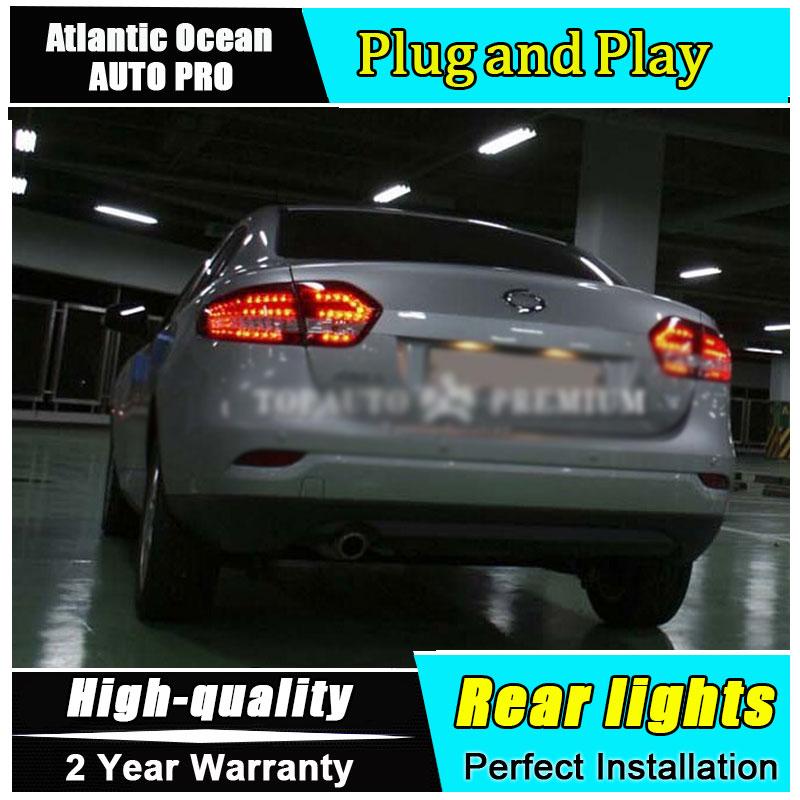 2011 2015 For Fluence LED rear lights LED taillights For Fluence LED rear lamp car styling DRL+Brake+Park+Signal led lights