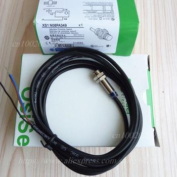 XS1N08PA349 XS1N08NA349 Schneider nowy wysokiej jakości czujnik zbliżeniowy czujnik tanie i dobre opinie XS1-N08PA349 XS1-N08NA349