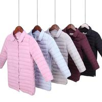 Children Outerwear Warm Coat 2017 Girl Jacket Spring Autumn Winter Hooded Toddler Teenage Jackets For Family