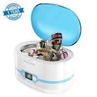 Adoolla 600mL Mini Ultrasonic Cleaner Timing Function Ultrasound Washing Bath Cleaning Stainless Steel Machine for Jewelry CDs