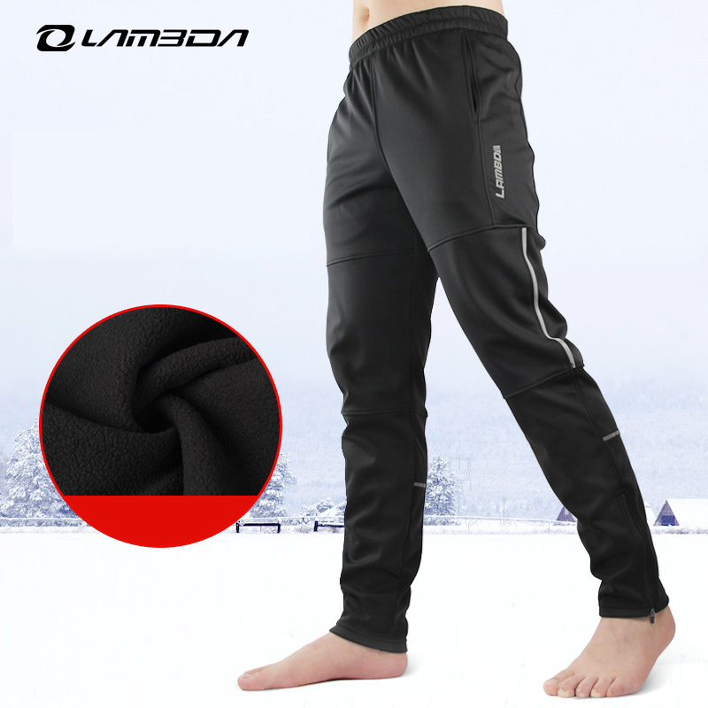 In the spring and autumn winter leisure cycling pants men s trousers fleece bike pants outdoor