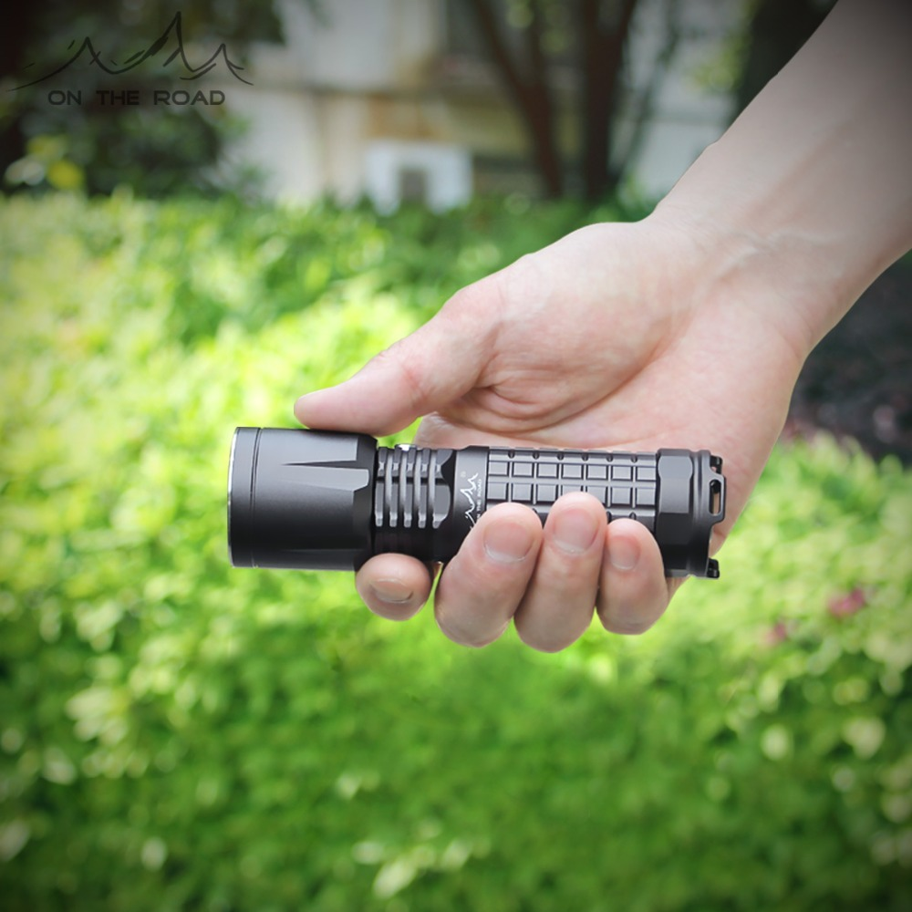 ON THE ROAD X5 Type C USB Flashlight 26650 Charging USB C Rechargeable mini Torch 1100lm
