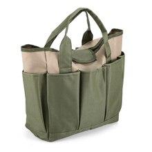حقيبة أدوات الحديقة في الهواء الطلق أدوات أكسفورد نسيج حديقة صندوق مربع نوع حقيبة ل أدوات البستنة أدوات في الهواء الطلق