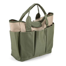 Garden Tool Bag Outdoor Tools Oxford Fabric Square Box Type for Gardening Kit