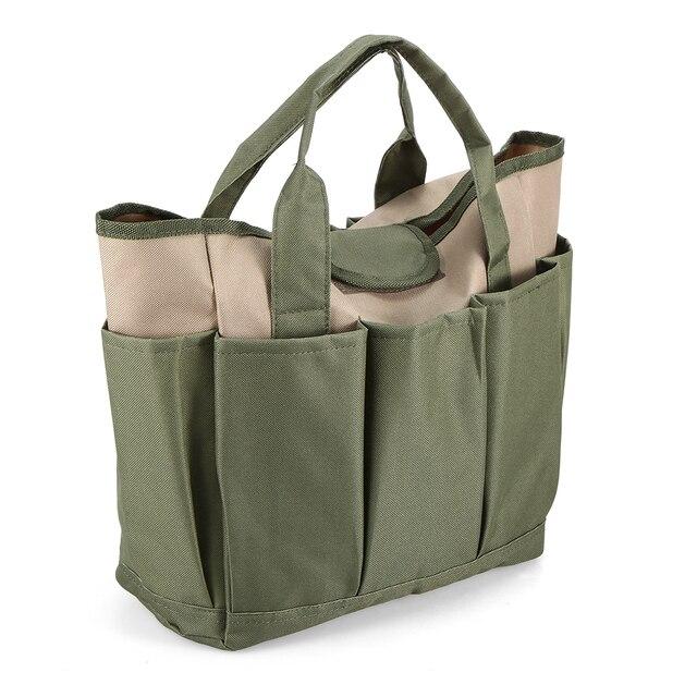 Garden Tool Bag Outdoor Tools Oxford Fabric Garden Square Box Type Bag for Gardening Tool Kit Outdoor Tools