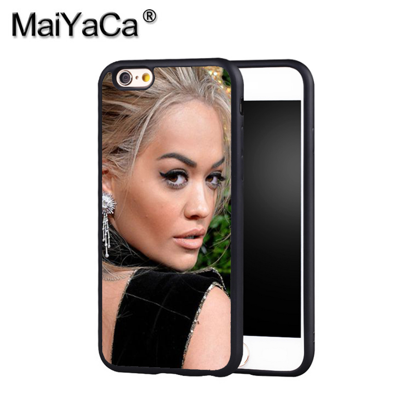 MaiYaCa Rita Ora Your Song 9 Phone Case Cover For Iphone X 8 6 6S Plus 7 7 Plus 5 5S 5C 4S SE Print Soft Rubber Case