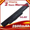 14.4 В 2600 мАч аккумулятор для ноутбука Asus X54F X54H X54HB X54HY X54K A31-K53 A32-K53 A41-K53 A42-K53