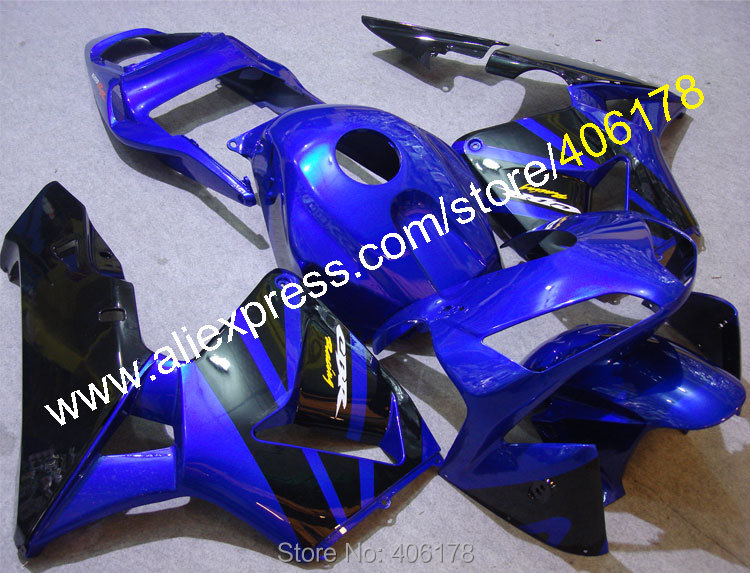 Hot Sales,For Honda CBR600RR 2003 2004 CBR 600RR 03/04 F5 CBR 600 RR Blue Black Motorcycle Cowl Fairing Kit (Injection molding) hot sales for honda cbr600rr 2003 2004 cbr 600rr 03 04 f5 cbr 600 rr blue black motorcycle cowl fairing kit injection molding