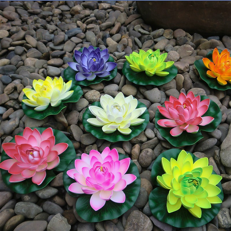 Different size 3pcs10cm18cm30cm eva real touch flowers different size 3pcs10cm18cm30cm eva real touch flowers artificial flowers silk flower lotus pond decorate home decoration in artificial dried flowers mightylinksfo