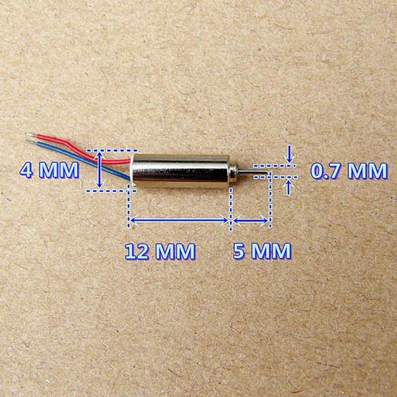 10 ピース/ロット超高速 3.7 V 53000 Rpm の回転マイクロ 0412 中空カップモータ小型モータ
