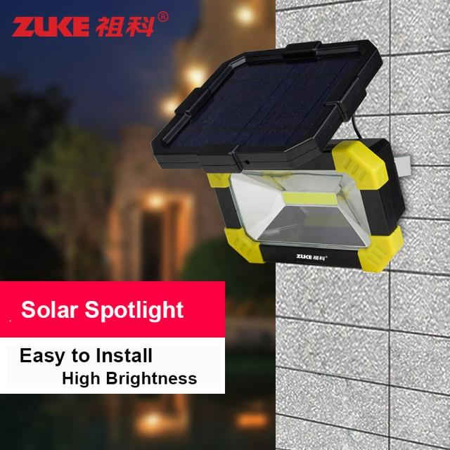Waterproof Outdoor Solar Flood Lights Garden Lamp 3w Cob Led Lamp 5v