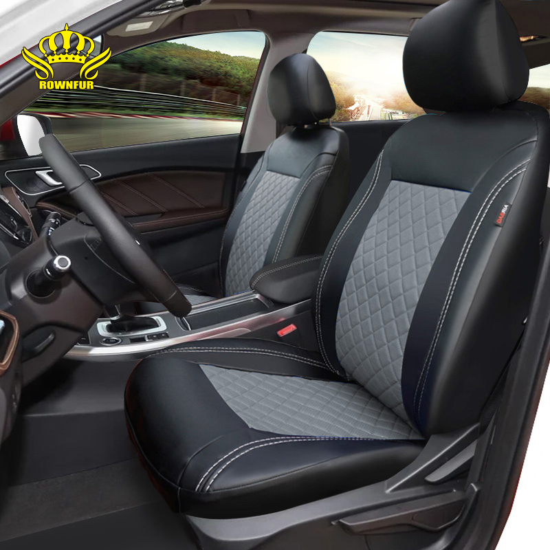 Waterproof car seat cover PU leather Front seat and 1 set universal Automotive interior For Toyota