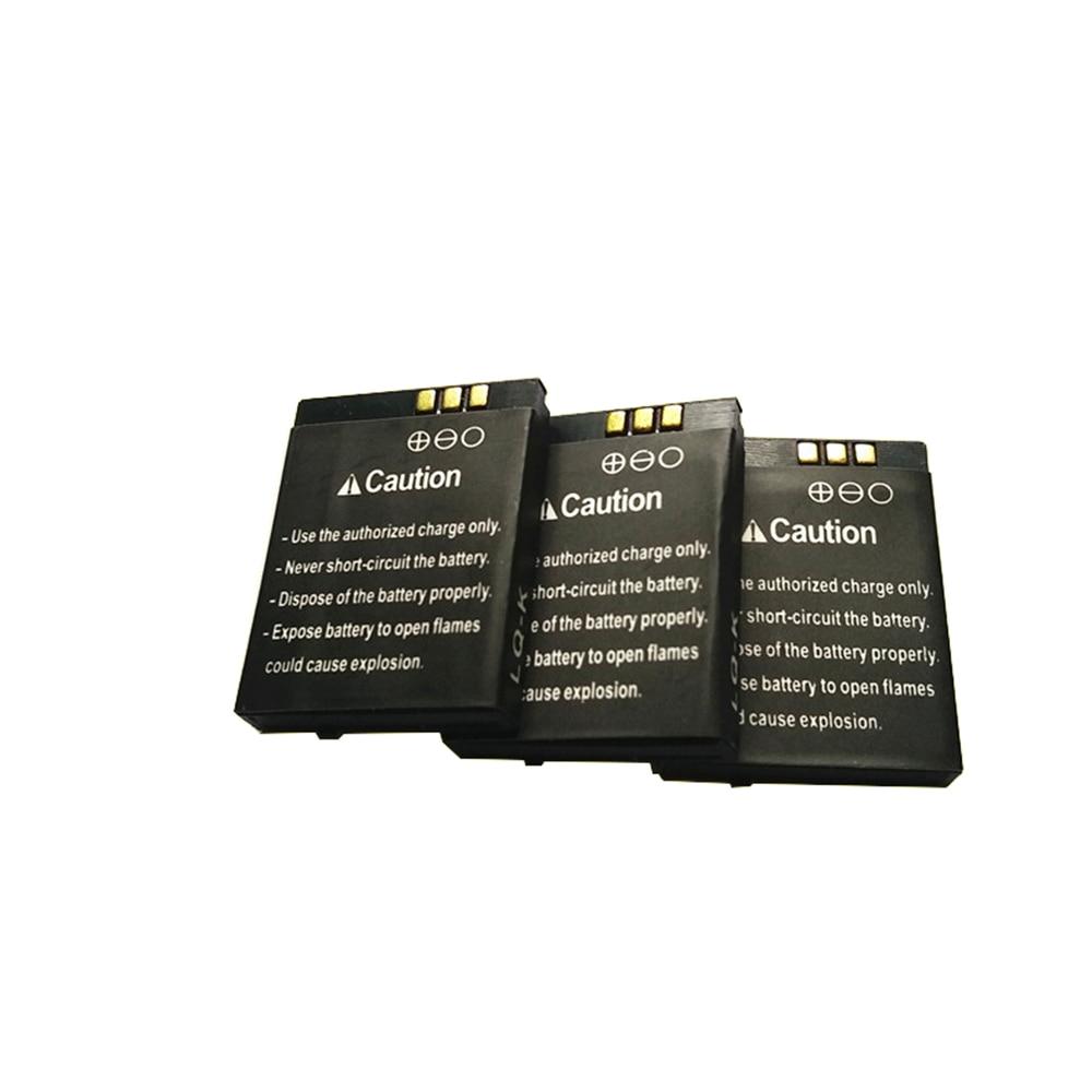 3 unids/lote 3,7 V 380mAh batería recargable para reloj inteligente dz09 batería de repuesto para reloj inteligente dz09