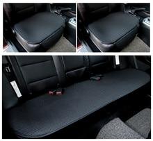 Крутая Подушка на сиденье автомобиля, чехол на сиденье автомобиля, набор ковриков для автомобиля, дышащая одежда, удобный льняной чехол на сиденье автомобиля